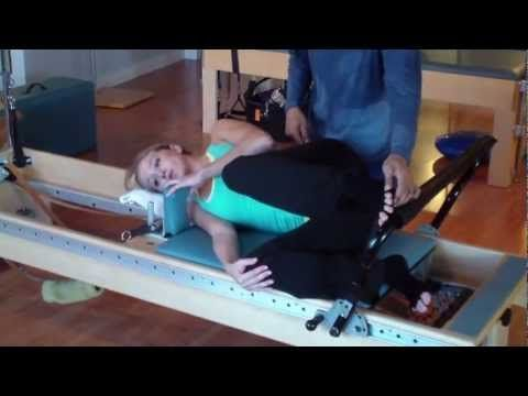 Try This Reformer Exercise That Will Target To Tone Your Glutes - YouTube