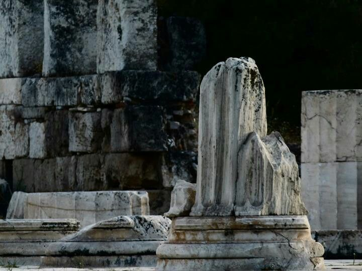 Eleusis the sacred temple