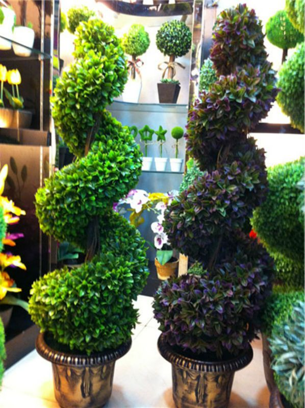 Artificial Topiary Trees Cheap Part - 26: Decorative Plastic Topiry Tree Artificial Spiral Boxwood Tree With Pot - Buy  Decorative Artificial Topiary Tree,Artificial Spiral Boxwood Tree,Plastic  ...