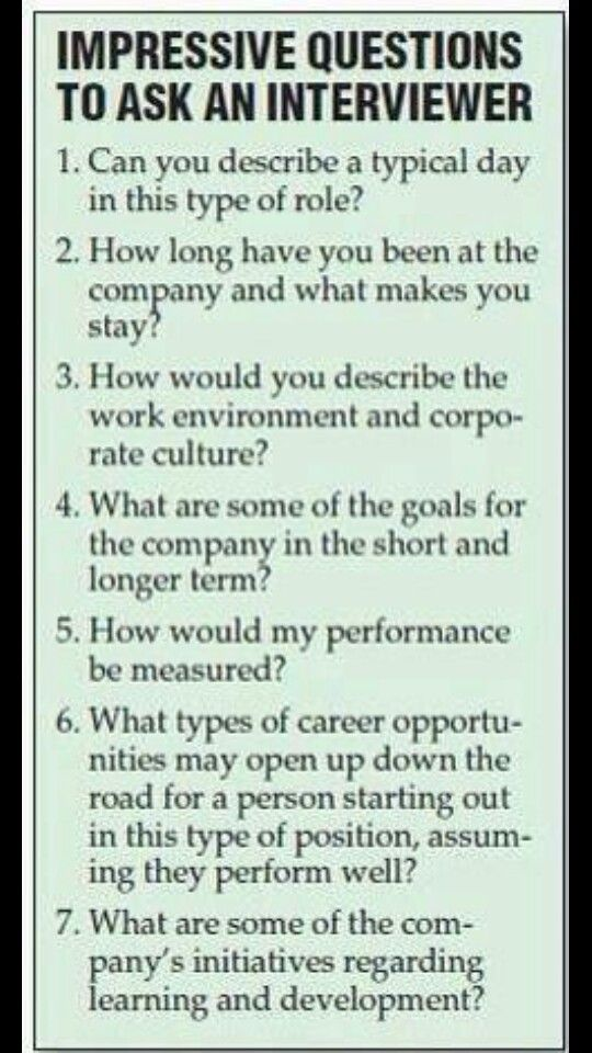 great questions to ask the interviewer during a job interview still feeling a little rusty on the whole job searching process no problem