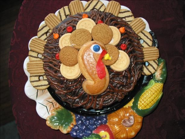 No Bake Turkey Cake