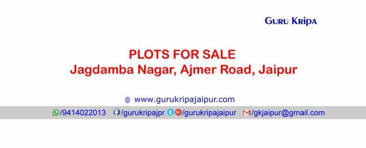 Jagdamba Nagar Jaipur Jda Approved Plots for Sale Ajmer Road Jaipur