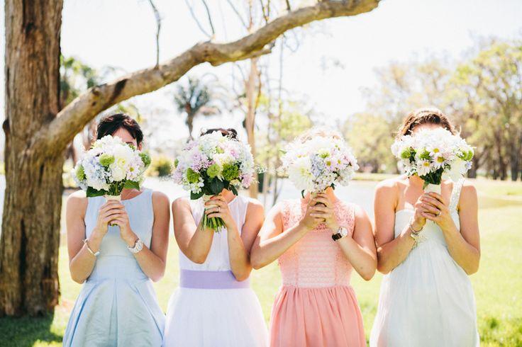 hiding behind flowers // Ballyhoo Photography