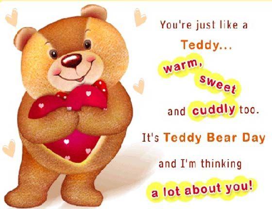 happy teddy day, Happy teddy bear day, i love you, teddy bear, cute teddy bear, celebration-images-quotes-sms-0f teddy day