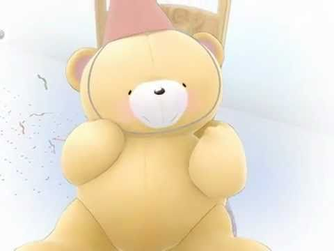 Forever Friends Birthday Bear - YouTube