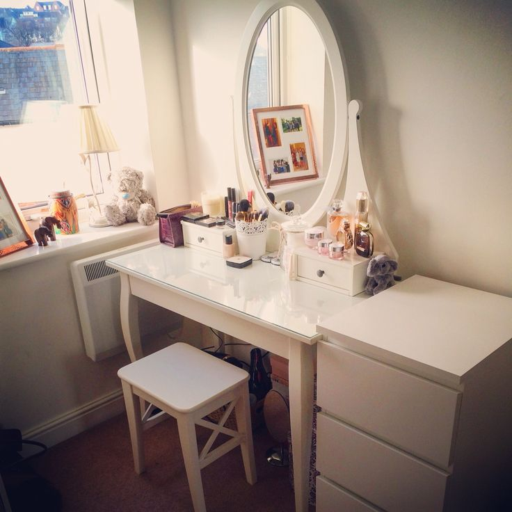 Ikea Malm Dressing Table ϸ� Vanity Table Inredning