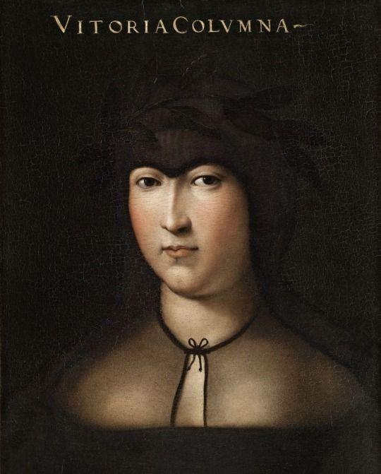 Cristofano dell'Altissimo. Vittoria Colonna, before 1568