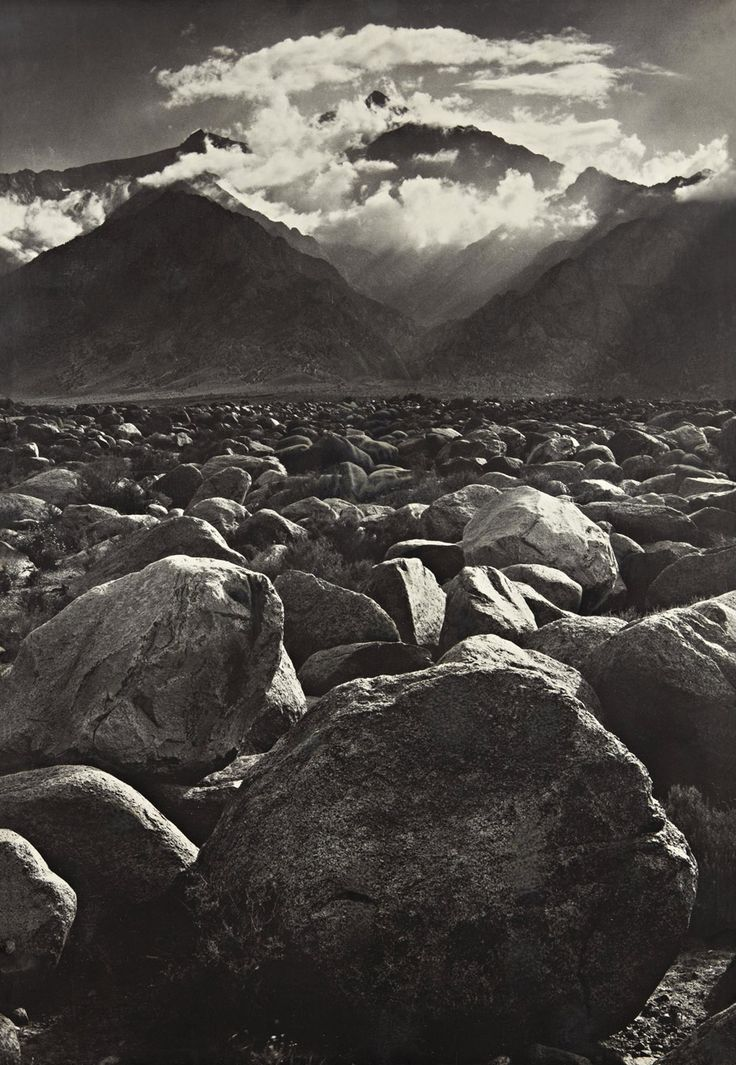 ansel adams - california 1944. And quite frankly, the man who made me fall in love with taking pictures.