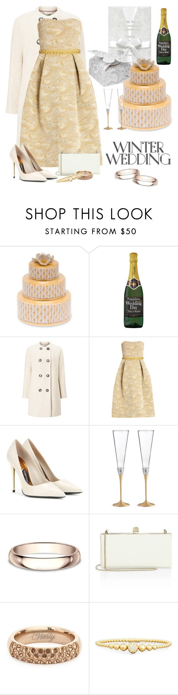 Wedding wishes by joyfulmum ❤ liked on polyvore featuring harrison herend windsmoor