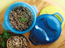 Love this rice maker and best part is its not just for rice...I found out I can make baked potatoes in 9 minutes using it! www.tupperstars.net