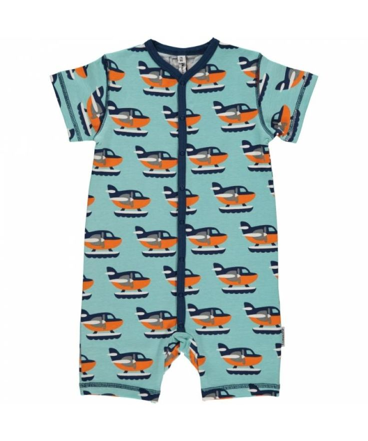 Sea Plane Rompersuit from Maxomorra. Available at Modern Rascals.
