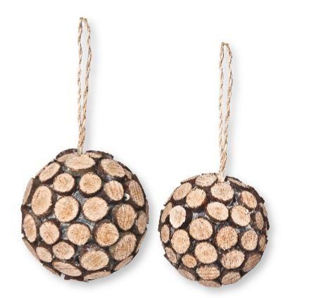 VBS Boules déco « rondelles de bois » , Loisirs créatifs à petits prix VBS  Hobby