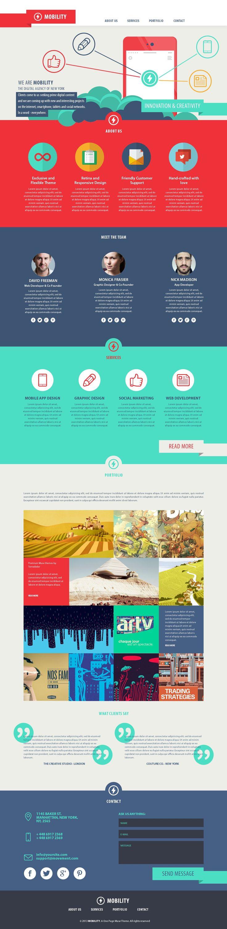 Best 25+ One page website ideas on Pinterest