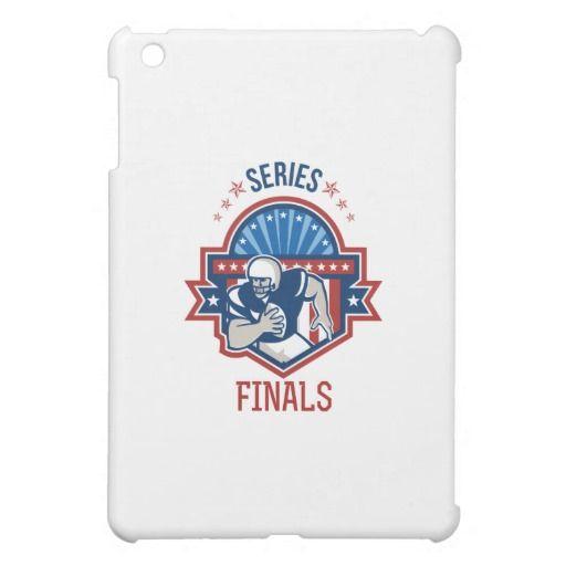 American Football QB Series Finals Crest iPad Mini Matte Finish Case