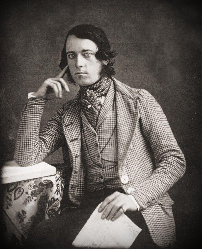 Mens' fashion 1845
