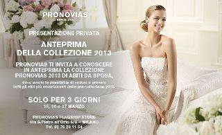 Exclusive preview Pronovias 2013 collection http://www.thedress.it/3396/esclusiva-collezione-pronovias-2013-gli-abiti-dal-vivo-nel-flagship-store-di-milano-e-lintervista-alla-direttrice/