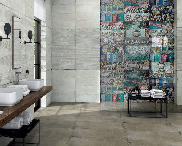 Carrelage Salle De Bain Inspirer Des Graffiti Du Mur De Berlin