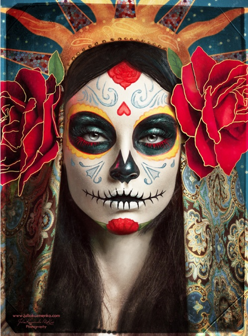 The 29 Most Striking Sugar Skull Portraits