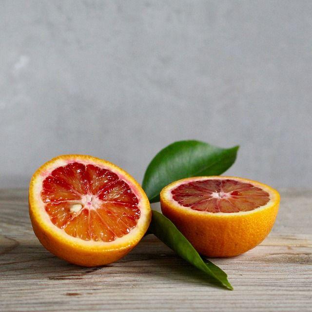 Éterické oleje: červený pomeranč