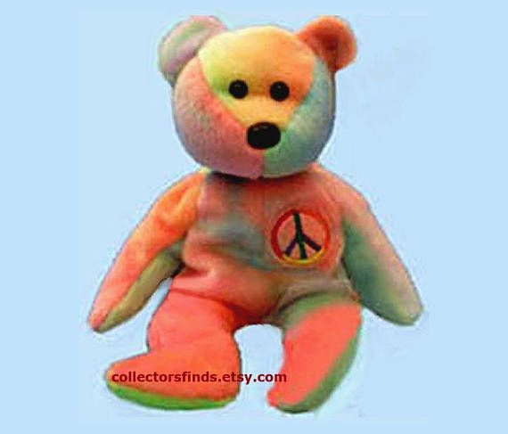 e08403b21d8 12 New PEACE The TIE DYE Bear