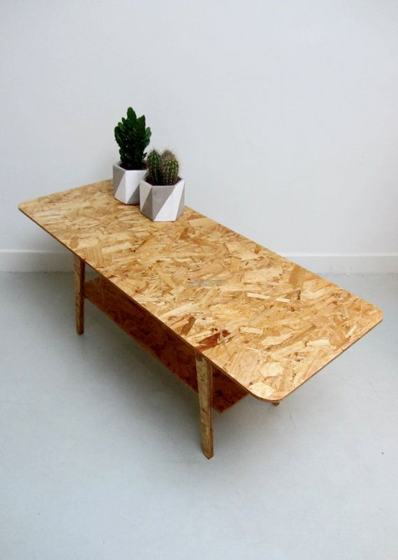 Mid century stijl retro salontafel van OSB van SilasStore op Etsy
