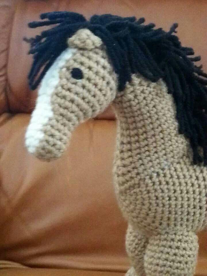 Crochet horse | Stuff I've actually done! | Pinterest ...