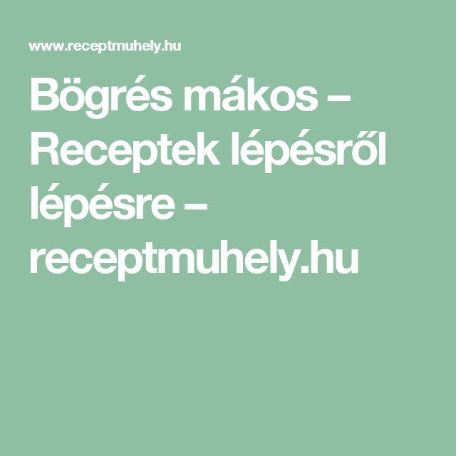 Bögrés mákos – Receptek lépésről lépésre – receptmuhely.hu