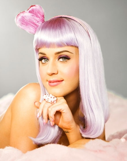katy perry katy-perry: Purple Hair, Girls Crushes, Cotton Candy, California Girls, California Gurl, Katy Perry, Pink Hairs, Perry California, Teenagers Dream