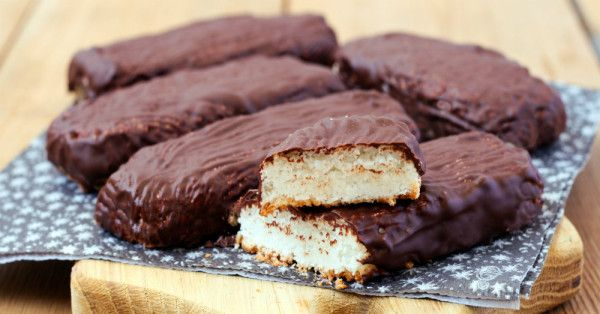 Homemade Chocolate Coconut Bars