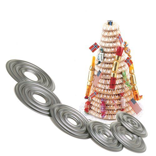 Norpro 3273 Cake Forms Nonstick Kransekake Norwegian Dessert Ring Tower New 3273 >>> Learn more by visiting the image link.