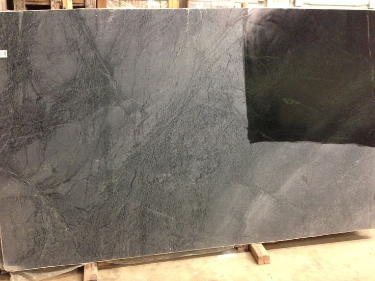 belvedere soapstone before oil treatment it is a very elegant charcoal gray with darker lines. Black Bedroom Furniture Sets. Home Design Ideas