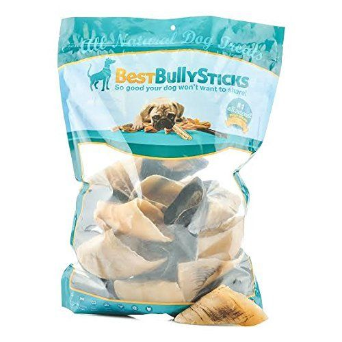 Natural Cow Hooves Dental Dog Chews by Best Bully Sticks 25 count Value Pack Made from Free Range Grass Fed Cattle and Free of Any Hormones or Chemicals  Hand Inspected and USDAFDA Approved -- See this great product.