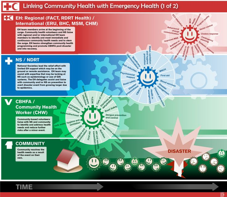For the ifrc a graphic showing how community health