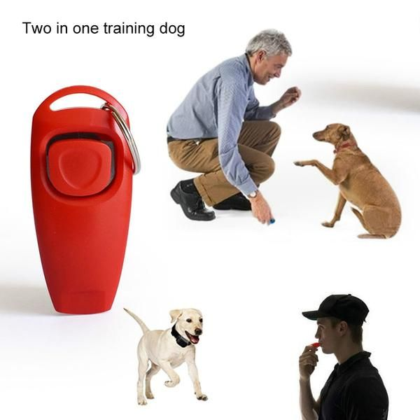 Dog Clicker And Whistle Pet Trainer Dog Training Pet Dogs