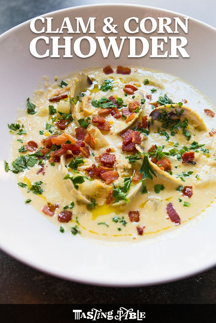 Check out Clam and Corn Chowder. It's so easy to make ...