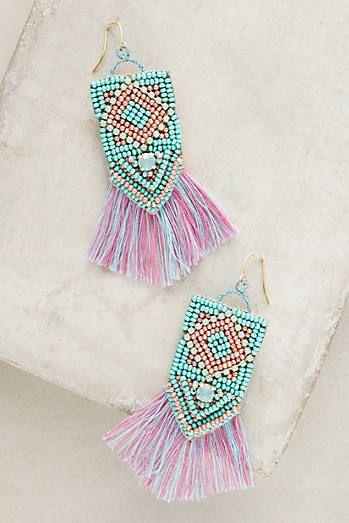 Bekah Fringed Earrings