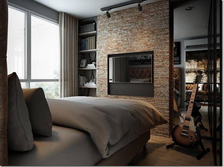 Впечатляющий интерьер квартиры в промышленном стиле от разных мастерских мира