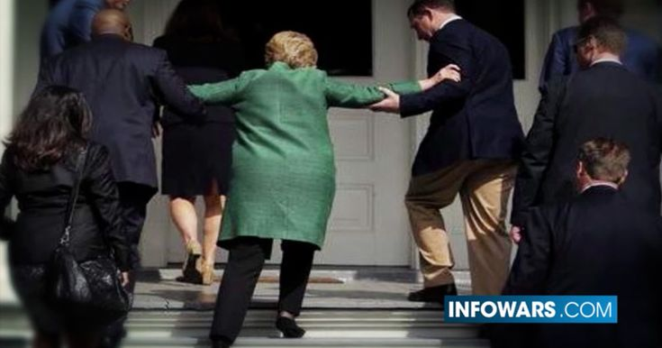 SECRET SERVICE LEAKS HILLARY'S HEALTH TO PRESS Hillary apparently suffers Parkinson's or a similar disease