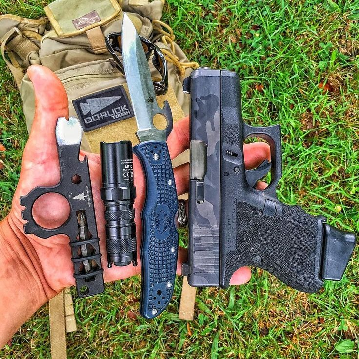 Taking the little fella (Glock26) out with me today.  #WiseMen #2a #edc #edcgear #everydaycarry #pocketdump #igmilitia #pewpew #gear #comeandtakeit #freedom #prepper #knivesdaily #pockettools #multitool #guns #dtom #survival #prepared #gunsofig #gunaddict #igshooters #gunvids #America #Glock26 #Spyderco #GoRuck #Maxpedition