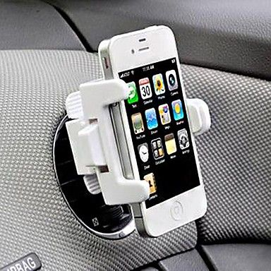 Suport universal în mașină pentru iPhone4/4S, 5/5S, 5C (Color asortate)   – USD $ 5.99