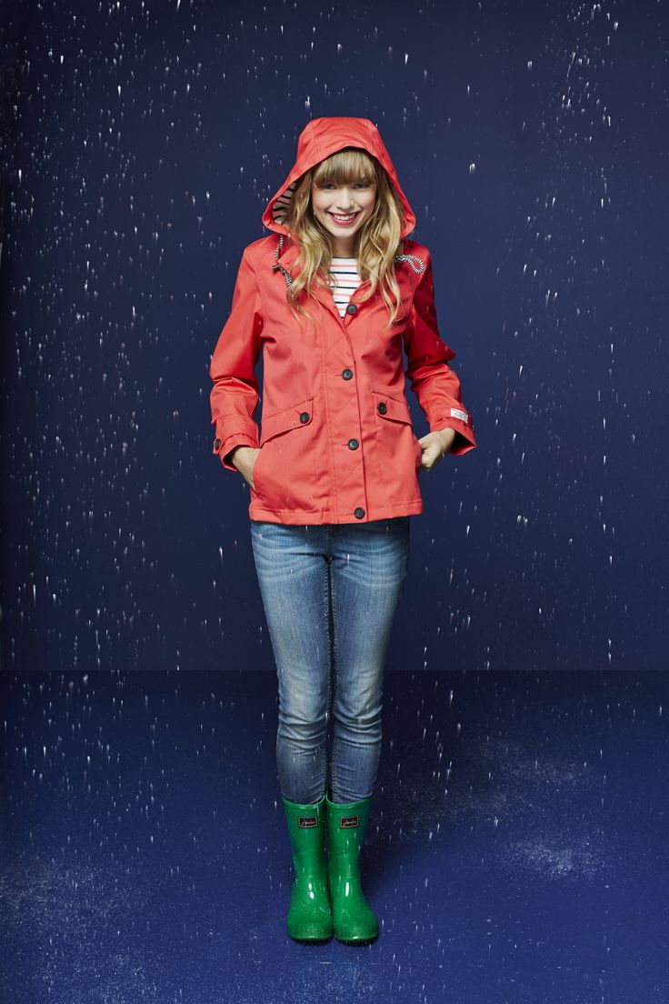 Joules Ladies Coast Waterproof Jacket I Spring/Summer 2015 #Waterproof #Jacket