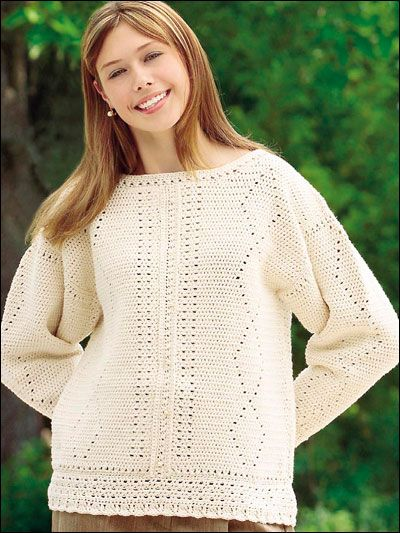 218 best images about Crochet: Free Sweater and Cardigan ...