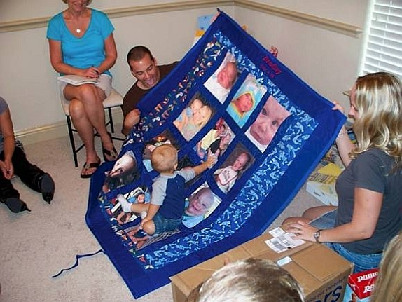 Baby's 2nd Year Story Quilt