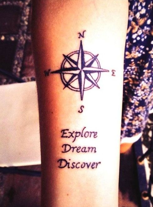 30 Travel Tattoos You Should Totally Get If You're A Wanderlust By Heart
