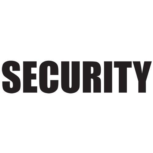 SECURITY T-SHIRT | TSHIRTS
