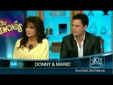 Joy Behar Talks Mormonism With Donny & Marie Osmond.Donny was my first ever crush big time.Please check out my website thanks. www.photopix.co.nz