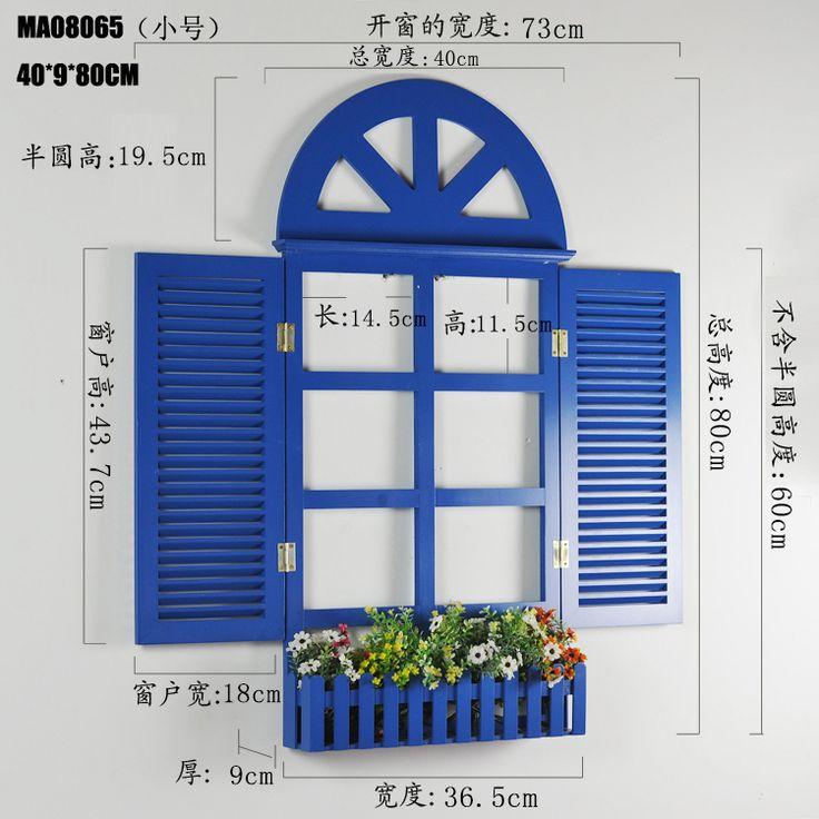 Mairui En творческий средиземноморском стиле декоративные оконные ставни блокировать поддельные гобелены эмуляции окно, принадлежащий категории Прочая мебель для дома и относящийся к Мебель на сайте AliExpress.com   Alibaba Group