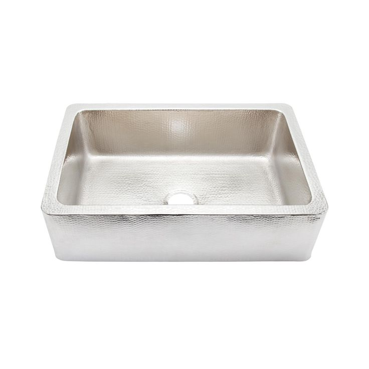 Thompson Traders Ksa 3322brn Limited Editions Hammered Nickel Lucca Kitchen Sink At Atg Stores