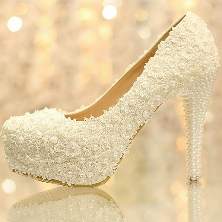 63.75$  Buy now - http://alijr1.worldwells.pw/go.php?t=1469359951 - Beautiful Platform High Heel Dress Shoes Bridal Wedding Dress Shoes Evening Dress Shoes Anniversary Party Shoes X'mas Gift 63.75$