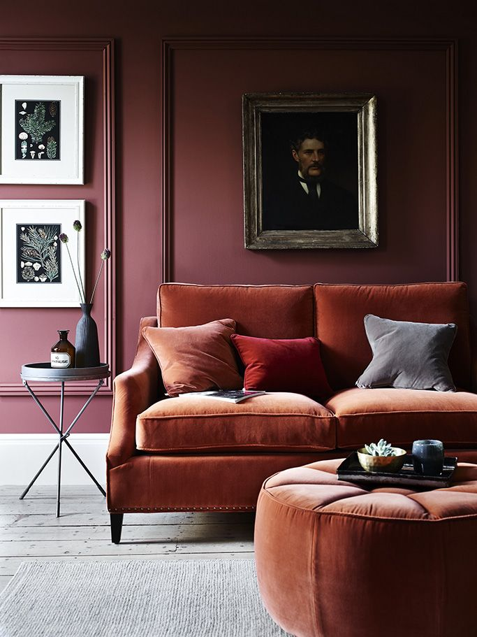 How To Add Autumn Colours To Your Interiors. Classic Living RoomBold Living  RoomMaroon ... Part 50